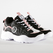 /achat-baskets-basses/sergio-tacchini-baskets-femme-distruction-mix-stw928200-black-pink-193692.html