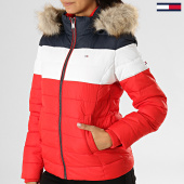 /achat-doudounes/tommy-jeans-doudoune-femme-fourrure-modern-colorblock-7363-rouge-bleu-marine-blanc-193732.html