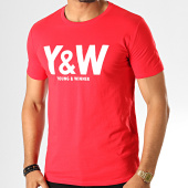 /achat-t-shirts/y-et-w-tee-shirt-logo-rouge-blanc-193672.html
