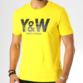 /achat-t-shirts/y-et-w-tee-shirt-logo-jaune-noir-193673.html