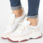 /achat-baskets-basses/calvin-klein-baskets-femme-maya-low-top-lace-up-mesh-r0802-white-193905.html