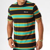 /achat-t-shirts/ellesse-tee-shirt-pluto-noir-vert-193799.html