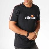 /achat-t-shirts/ellesse-tee-shirt-a-bandes-acapulco-shc07415-noir-193859.html