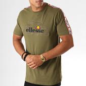/achat-t-shirts/ellesse-tee-shirt-a-bandes-acapulco-shc07415-vert-kaki-193860.html