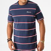 /achat-t-shirts/ellesse-tee-shirt-a-rayures-mezzo-shc07596-bleu-marine-blanc-rouge-193874.html