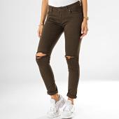/achat-jeans/girls-only-jean-slim-femme-destroy-762-3-vert-kaki-fonce-193922.html