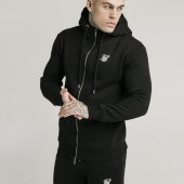 /achat-sweats-zippes-capuche/siksilk-sweat-zippe-capuche-16070-noir-193896.html