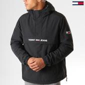 /achat-vestes/tommy-hilfiger-jeans-veste-outdoor-padded-popover-7121-noir-193814.html
