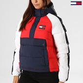 /achat-doudounes/tommy-hilfiger-jeans-doudoune-femme-a-bandes-rwb-detail-popover-7366-rouge-bleu-marine-blanc-193878.html