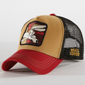 /achat-trucker/looney-tunes-casquette-trucker-coyote-bordeaux-ocre-193975.html