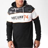 /achat-sweats-capuche/deeluxe-sweat-capuche-camouflage-dribson-noir-blanc-gris-orange-194034.html