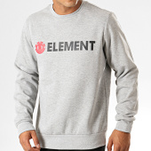 /achat-sweats-col-rond-crewneck/element-sweat-crewneck-blazin-crew-gris-chine-194021.html