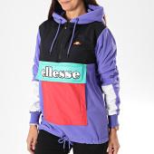 /achat-vestes/ellesse-veste-polaire-col-zippe-capuche-femme-courmayeur-sgc07283-violet-noir-194002.html
