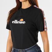 https://www.laboutiqueofficielle.com/achat-t-shirts/ellesse-tee-shirt-femme-a-bandes-antalya-sgc07471-noir-194012.html