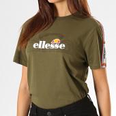 /achat-t-shirts/ellesse-tee-shirt-femme-a-bandes-antalya-sgc07471-vert-kaki-194013.html
