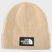 /achat-bonnets/the-north-face-bonnet-tnf-logo-box-cuf-ecru-193962.html