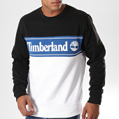 /achat-sweats-col-rond-crewneck/timberland-sweat-crewneck-cut-and-sew-logo-1o9u-noir-blanc-bleu-193982.html