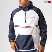 /achat-coupe-vent/tommy-sport-coupe-vent-woven-with-tape-0234-blanc-bleu-marine-rouge-194040.html