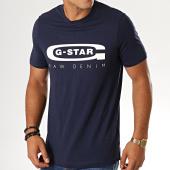 /achat-t-shirts/g-star-tee-shirt-slim-graphic-4-d15104-336-bleu-marine-194051.html