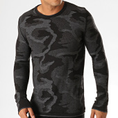 /achat-pulls/ikao-pull-f588-noir-gris-anthracite-194048.html
