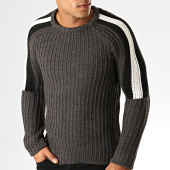 /achat-pulls/ikao-pull-a-bandes-f604-gris-anthracite-194060.html