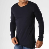/achat-t-shirts-manches-longues/ikao-tee-shirt-oversize-a-manches-longues-f619-bleu-marine-194103.html