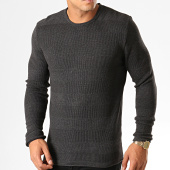 /achat-pulls/ikao-pull-f607-gris-anthracite-194126.html