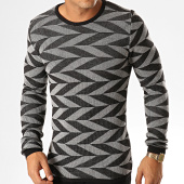/achat-pulls/ikao-pull-f587-noir-gris-194130.html