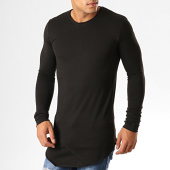 /achat-t-shirts-manches-longues/ikao-tee-shirt-manches-longues-oversize-f652-noir-194132.html