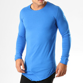 /achat-t-shirts-manches-longues/ikao-tee-shirt-manches-longues-oversize-f652-bleu-194137.html