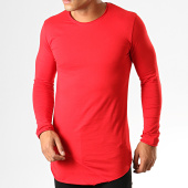 /achat-t-shirts-manches-longues/ikao-tee-shirt-manches-longues-oversize-f652-rouge-194166.html