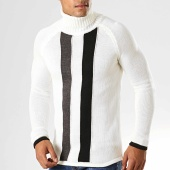 /achat-pulls/ikao-pull-col-roule-f603-blanc-casse-noir-gris-194186.html