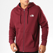 /achat-sweats-zippes-capuche/the-north-face-sweat-zippe-capuche-open-gate-cg46-bordeaux-194151.html
