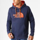 /achat-sweats-capuche/the-north-face-sweat-capuche-drew-peak-ahjy-bleu-marine-orange-194183.html