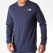 /achat-t-shirts-manches-longues/the-north-face-tee-shirt-manches-longues-simple-dome-3l3b-bleu-marine-194184.html
