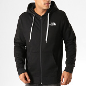 /achat-sweats-zippes-capuche/the-north-face-sweat-zippe-capuche-open-gate-cg46-noir-blanc-194237.html