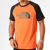 /achat-t-shirts/the-north-face-tee-shirt-raglan-easy-37fv-orange-noir-194241.html