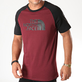 /achat-t-shirts/the-north-face-tee-shirt-raglan-easy-37fv-bordeaux-noir-194242.html
