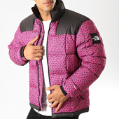 /achat-doudounes/the-north-face-doudoune-lhotse-3y23-rose-noir-194243.html