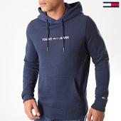 /achat-sweats-capuche/tommy-jeans-sweat-capuche-straight-logo-7030-bleu-marine-194148.html