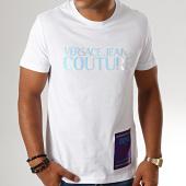 /achat-t-shirts/versace-jeans-couture-tee-shirt-uum600-azure-b3gub7tb-30283-blanc-iridescent-194092.html