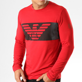 /achat-t-shirts-manches-longues/ea7-tee-shirt-manches-longues-6gpt59-pjq9z-rouge-194300.html