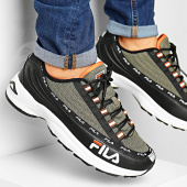 /achat-baskets-basses/fila-baskets-dstr97-1010570-black-burnt-olive-194383.html