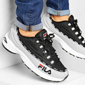 /achat-baskets-basses/fila-baskets-dstr97-1010570-gray-violet-black-194386.html