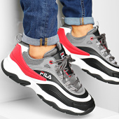 /achat-baskets-basses/fila-baskets-ray-cb-low-1010723-black-castlerock-fila-red-194520.html