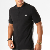 /achat-polos-manches-courtes/fred-perry-polo-manches-courtes-a-bandes-taped-side-m7532-noir-194424.html