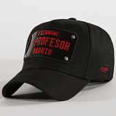 /achat-snapbacks/hechbone-casquette-plaque-el-profesor-noir-rouge-194552.html