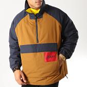 /achat-vestes/hugo-by-hugo-boss-veste-outdoor-bentrio-1941-50412016-marron-bleu-marine-194474.html