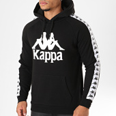 /achat-sweats-capuche/kappa-sweat-capuche-avec-bandes-authentic-hurtado-noir-194336.html