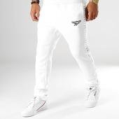 /achat-pantalons-joggings/reebok-pantalon-jogging-a-bandes-classic-vector-eb3630-blanc-194431.html